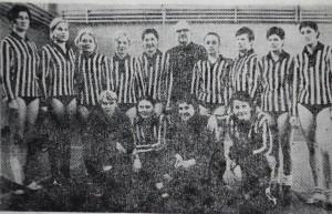 """Гандбольна команда """"Освіта"""" - неодноразовий чемпіон студентських ігор Радянського Союзу 1965-1973 рр."""