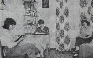 У кімнаті студентського гуртожитку