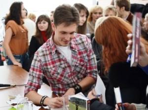 Зустріч студентів із письменником Максимом Кідруком